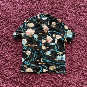Urban Outfitters floral button down